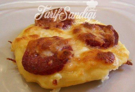 Mini Patatesli Pizza Tarifi